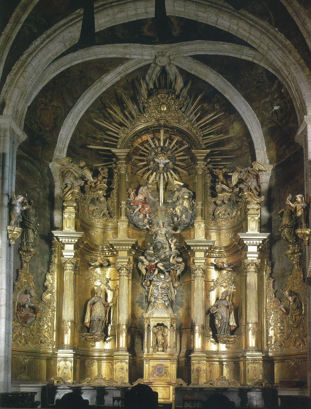 Retablo mayor (1770)  · Autor: Edilesa