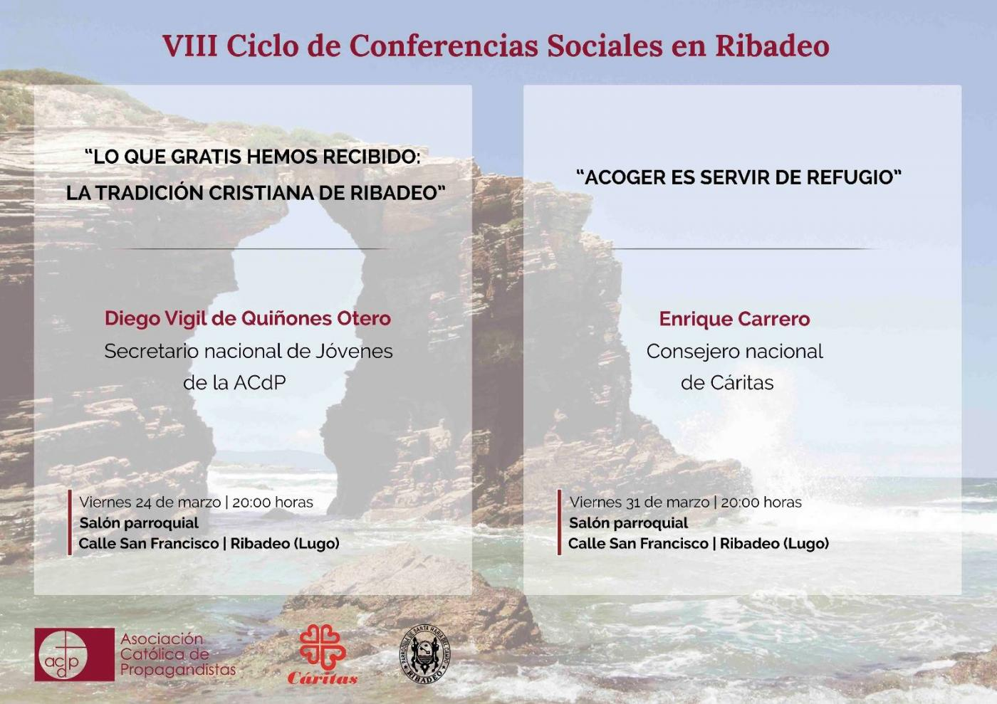 Ciclo de Conferencias Sociales 2017. Cartel